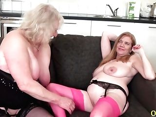 Oldnanny Lily May And Claire Knight Girly-girl Fucktoys