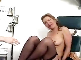 Big-chested Doc Has Girl-on-girl Romp Wit Sexy School Gal