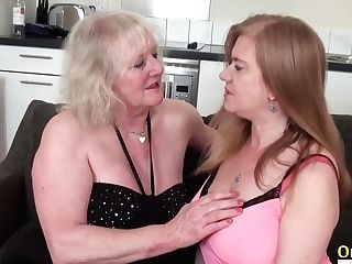 Oldnanny Lily May And Claire Knight Sapphic Movie