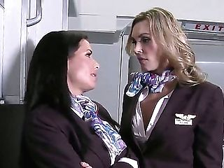 Horny Stewardesses Tanya Tate And Veronica Avluv Introducing Danny...
